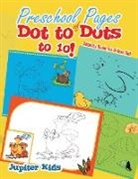 Jupiter Kids - Preschool Pages of Dot to Dots to 10!