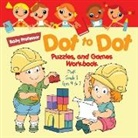 Baby, Baby Professor - Dot to Dot, Puzzles, and Games Workbook | PreK-Grade 1 - Ages 4 to 7