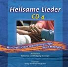 Katharina Bossinger, Wolfgang Bossinger - Heilsame Lieder. Tl.4, 1 Audio-CD (Hörbuch)