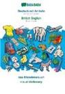 Babadada Gmbh - BABADADA, Deutsch mit Artikeln - British English, das Bildwörterbuch - visual dictionary