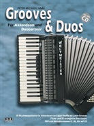 Peter M. Haas, Peter Michael Haas - Grooves & Duos, für Akkordeon und Duopartner, m. MP3-CD