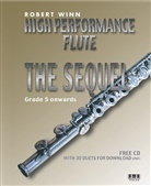 Robert Winn - High Performance Flute - The Sequel, for flut and piano, w. Audio-CD