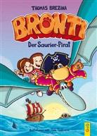 Thomas Brezina, Pablo Tambuscio - Bronti - Der Saurier-Pirat