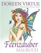 Doreen Virtue, Norma J. Burnell - Feenzauber Malbuch