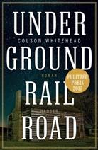Colson Whitehead - Underground Railroad