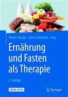 Claus Leitzmann, Leitzmann (Prof. Dr.), Rainer Stange, Raine Stange (Dr.) - Ernährung und Fasten als Therapie