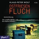 Klaus-Peter Wolf, Klaus-Peter Wolf - Ostfriesenfluch, 4 Audio-CD (Hörbuch)