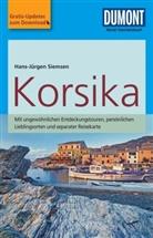 Hans-Jürgen Siemsen - DuMont Reise-Taschenbuch Reiseführer Korsika