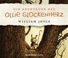 William Joyce, Simon Jäger, William Joyce, Robert Missler - Die Abenteuer des Ollie Glockenherz, 4 Audio-CD (Hörbuch)