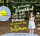 Daniell Graf, Danielle Graf, Katja Seide, Nina West - Das gewünschteste Wunschkind aller Zeiten treibt mich in den Wahnsinn, 4 Audio-CD (Hörbuch)