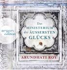 Arundhati Roy, Gabriele Blum - Das Ministerium des äußersten Glücks, 3 Audio-CD, (Hörbuch)