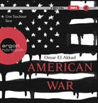 Omar El Akkad, Uve Teschner - American War, 2 Audio-CD, MP3 (Hörbuch)