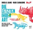 Dougla Adams, Douglas Adams, Mark Carwardine, Stefan Kaminski - Die Letzten ihrer Art. Eine Reise zu den aussterbenden Tieren unserer Erde, 6 Audio-CDs (Hörbuch)