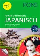 Katj Heere, Reiko Kobayashi, PON GmbH - PONS Power-Sprachkurs Japanisch in 4 Wochen, m. 2 Audio-MP3-CDs und Online-Tests