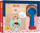 Sandra Schumann - Heute back' ich selbst!, m. Farbbechern