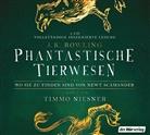 J. K. Rowling, Timmo Niesner - Phantastische Tierwesen und wo sie zu finden sind, 2 Audio-CDs (Hörbuch)