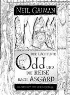 Neil Gaiman, Chris Riddell, Chris Riddell, Andreas Steinhöfel - Der lächelnde Odd und die Reise nach Asgard