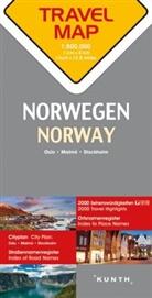 Carte de Voyage Norvege 1 : 800 000