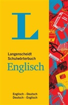 Redaktio Langenscheidt, Redaktion Langenscheidt - Langenscheidt Schulwörterbuch Englisch