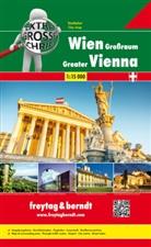 Freytag-Berndt und Ataria KG, Freytag-Bernd und Ataria KG - Freytag & Berndt Städteatlas Wien Großraum, Riesenatlas 1:15.000. Greater Vienna