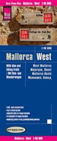 Reise Know-How Verlag Peter Rump - Reise Know-How Rad- und Wanderkarte Mallorca West (1:40.000). West Mallorca. Majorque, ouest / Mallorca oeste