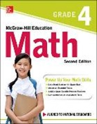 McGraw Hill, McGraw-Hill, Mcgraw-Hill Education - McGraw-Hill Education Math Grade 4, Second Edition