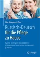 Nina Konopinski-Klein - Russisch - Deutsch für die Pflege zu Hause