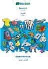 Babadada Gmbh, Babadad GmbH - BABADADA, Deutsch - Arabic (in arabic script), Bildwörterbuch - visual dictionary (in arabic script)
