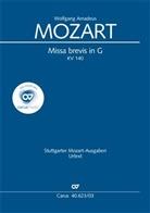 Wolfgang Amadeus Mozart, Willi Schulze - Missa brevis G-Dur KV 140 (235d), Klavierauszug