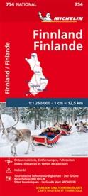 MICHELI, Michelin - Michelin Karte Finnland
