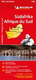 MICHELI, Michelin - Michelin Karte Südafrika. Afrique du Sud