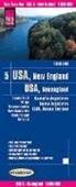 Reise Know-How Verlag Peter Rump - Reise Know-How Landkarte USA, Neuengland / USA, New England