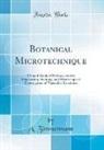A. Zimmermann - Botanical Microtechnique