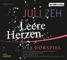 Juli Zeh, Alexander Beyer, Rainer Bock, Jule Böwe, Bettina Hoppe, Lisa Hrdina - Leere Herzen, 2 Audio-CDs (Hörbuch)