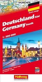Hallwag Kümmerly+Frey AG, Hallwa Kümmerly+Frey AG - Allemagne du Sud 1:500 000