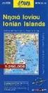 Ionian Islands 1 : 250 000