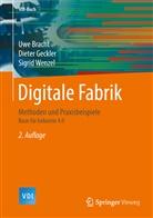 Uw Bracht, Uwe Bracht, Diete Geckler, Dieter Geckler, Sigrid Wenzel - Digitale Fabrik