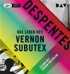 Virginie Despentes, Johann von Bülow - Das Leben des Vernon Subutex. Tl.1, 1 Audio-CD, (Hörbuch)