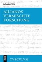 Ailianos, Ka Brodersen, Kai Brodersen - Vermischte Forschung