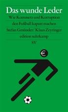 Stefa Gmünder, Stefan Gmünder, Klaus Zeyringer - Das wunde Leder