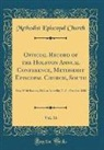 Methodist Episcopal Church - Official Record of the Holston Annual Conference, Methodist Episcopal Church, South, Vol. 16