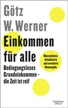 Enrik Lauer, Götz Werner, Götz W. Werner - Einkommen für alle