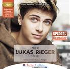 Josip Radovic, Josip Radović, Luka Rieger, Lukas Rieger, Lukas Rieger - Der Lukas Rieger Code, 1 MP3-CD (Hörbuch)
