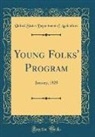 United States Department Of Agriculture - Young Folks' Program