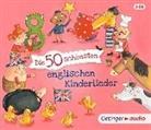 Various, Stefanie Jeschke - Die 50 schönsten englischen Kinderlieder, 3 Audio-CD (Hörbuch)