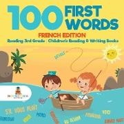 Baby,  Baby Professor - 100 First Words - French Edition - Reading 3rd Grade | Children's Reading & Writing Books