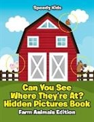 Speedy Kids - Can You See Where They're At? Hidden Pictures Book