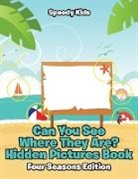 Speedy Kids - Can You See Where They Are? Hidden Pictures Book