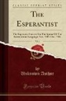 Unknown Author - The Esperantist, Vol. 1