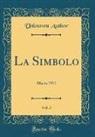 Unknown Author - La Simbolo, Vol. 3